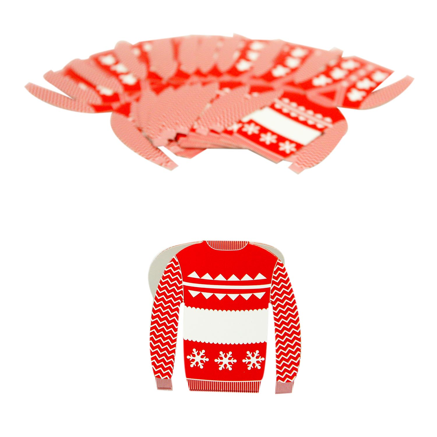 Ugly Sweater Place Cards