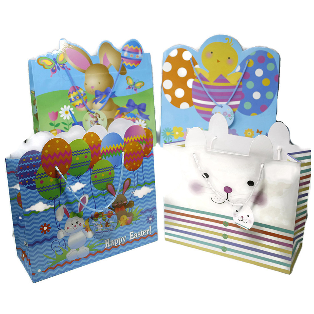 Large Die Cut Easter Gift Bags