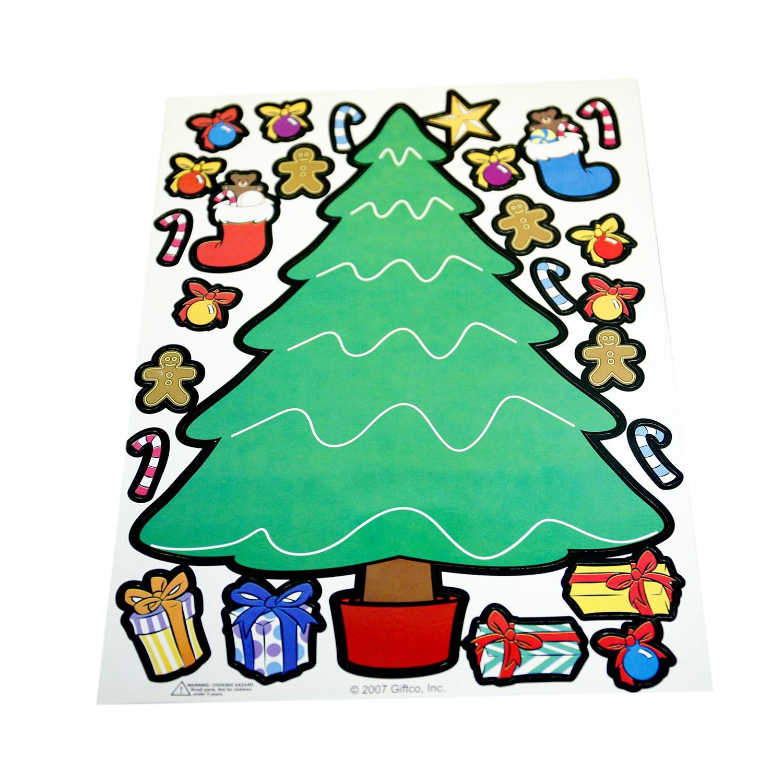 Christmas Tree Magnet Set