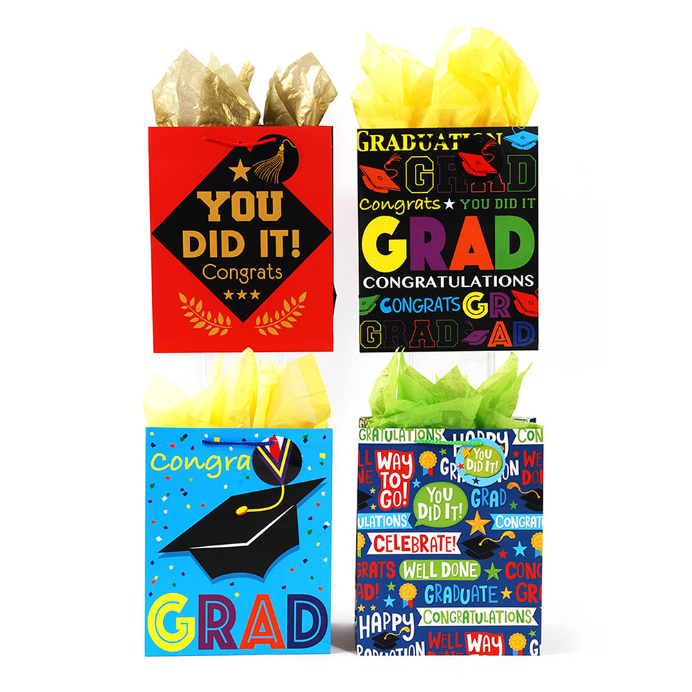 Medium Congrats to You Graduation Gift Bags