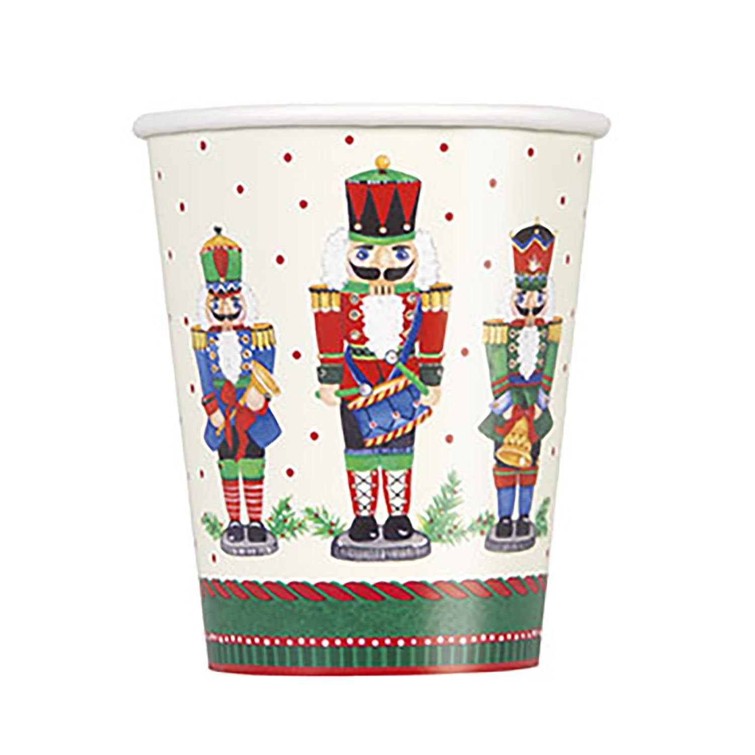 Nutcracker Christmas 9 oz. Cups 867-1036