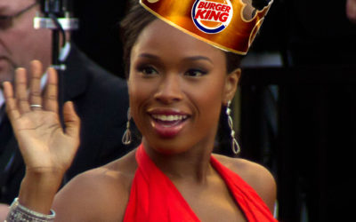 Jennifer Hudson Used to Sing Through the Microphone When She Worked at Burger King