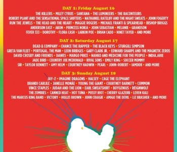 The Woodstock 50 Lineup Has Been Announced 2