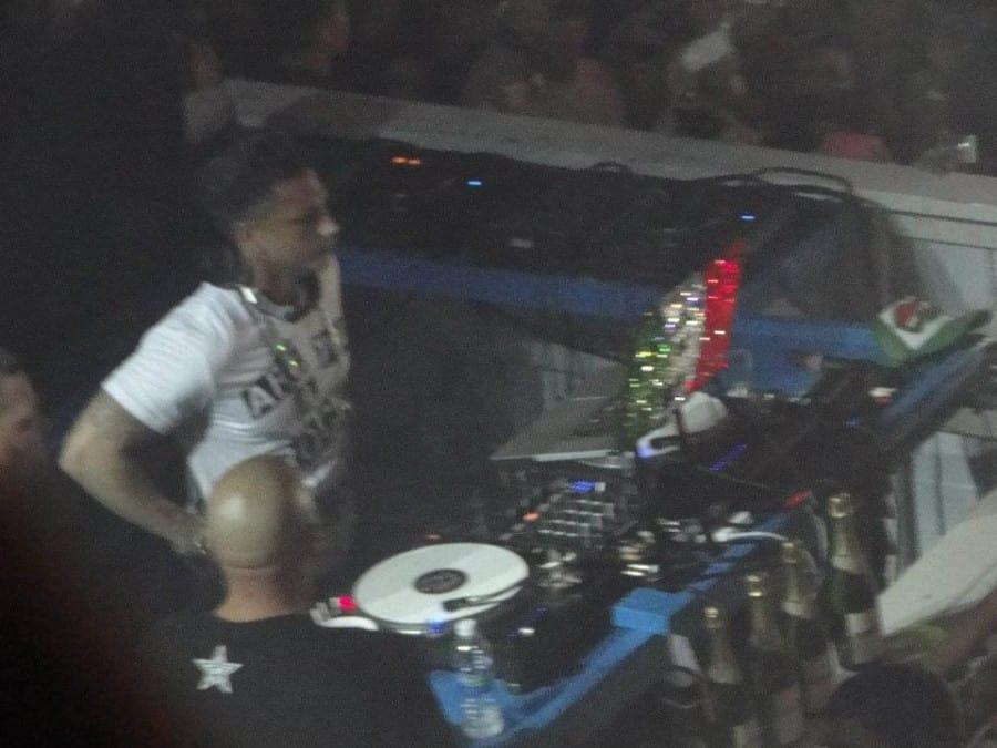 DJ Pauly D at Louie's Backyard