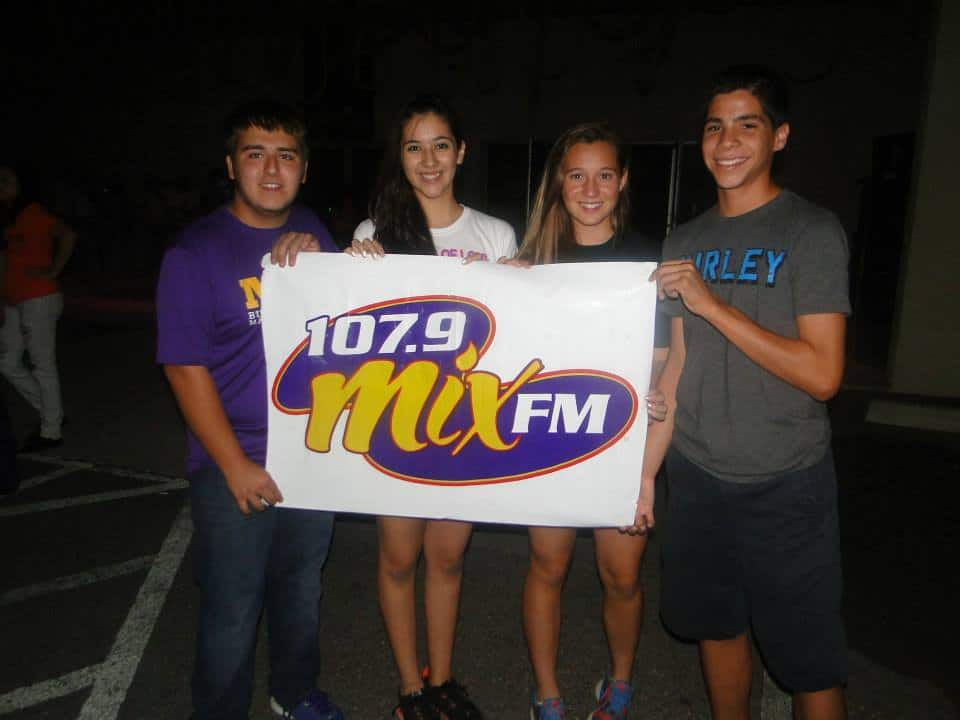 107.9 Mix FM Faces their Fears at 13th Floor