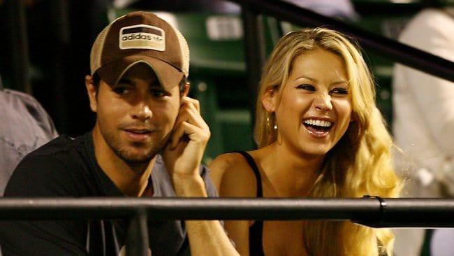 Enrique Iglesias and Anna Kournikova split after 12-years together