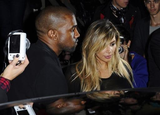 Kanye West proposed to Kim Kardashian