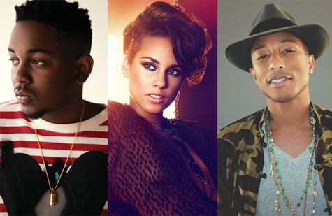 "Pharrell Williams teams up with Alicia Keys, Kendrick Lamar to produce soundtrack for ""The Amazing Spider-Man 2"""