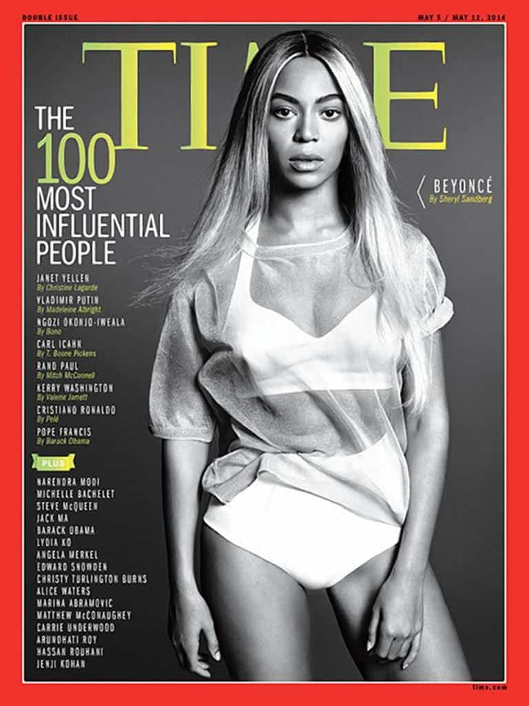 "Beyonce, Robert Redford, Matthew McConaughey and Miley Cyrus Are Among ""Time"" Magazine's Most Influential People"