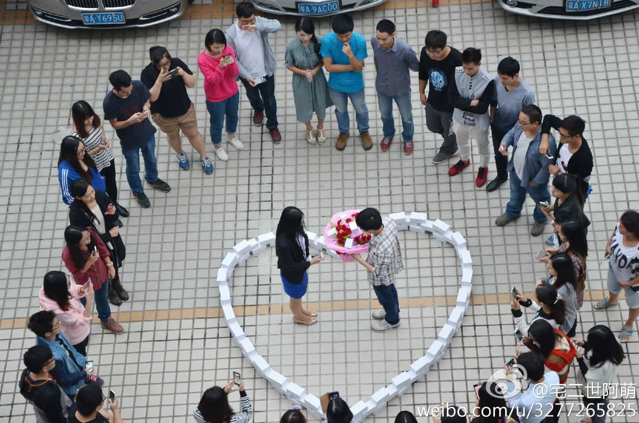 A Guy Bought 99 New iPhones for an Elaborate Wedding Proposal . . . and She Said No