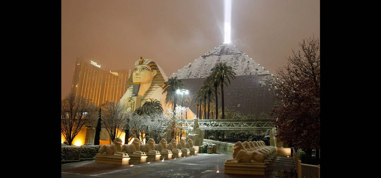 Las Vegas Betting On New Year's Eve Snow
