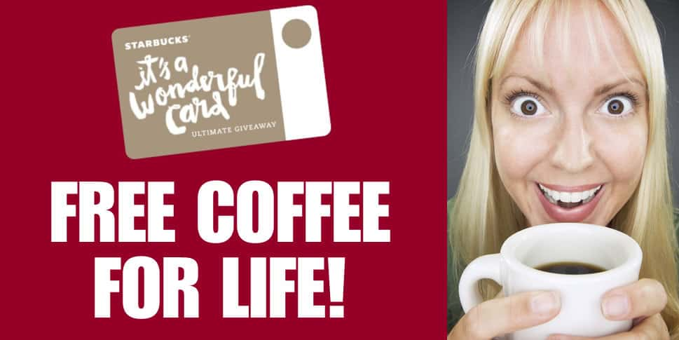 Starbucks Announced a Contest Where 10 Americans Win Free Coffee For Life
