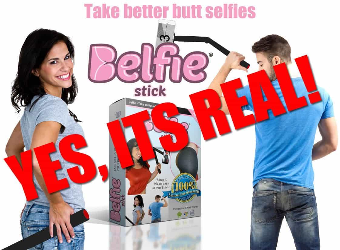 """The New """"Belfie Stick"""" Helps You Take Better Butt Photos"""