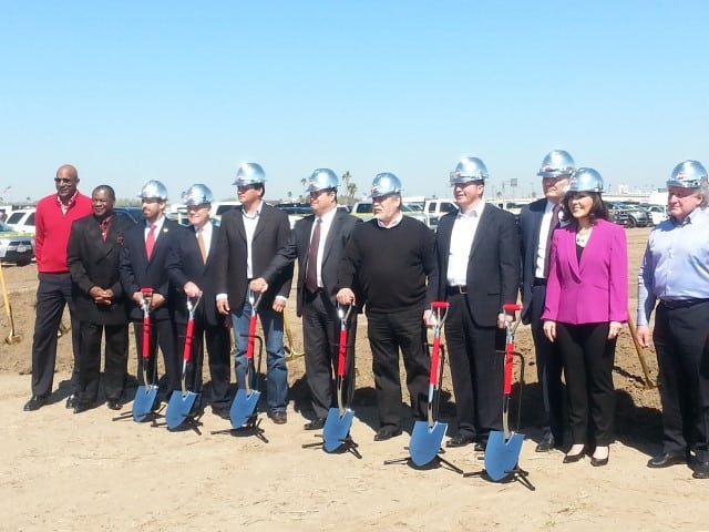 Ground Breaking of New Bert Ogden Arena in Edinburg