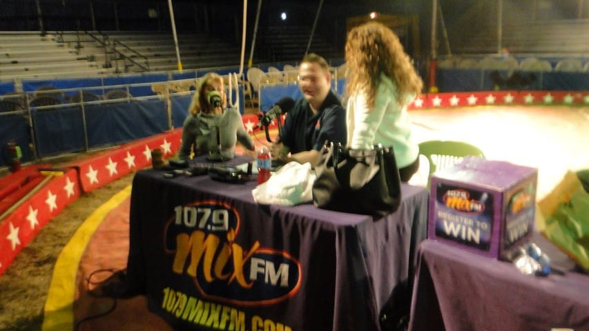 107.9 Mix LIVE At Kelly Miller Circus