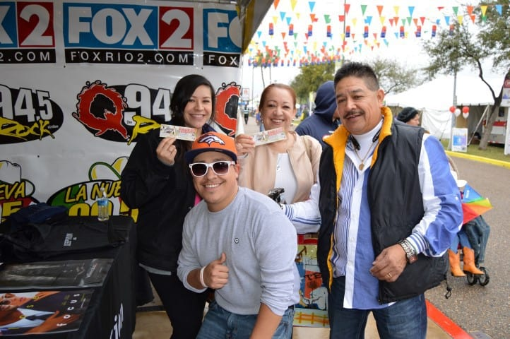 The Mix having a Blast with all of you at Borderfest
