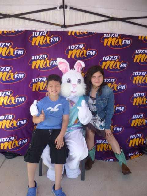 107.9 Mix FM Easter Bunny Stops by Xpress Dental McAllen