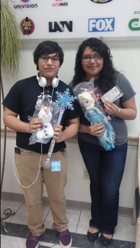 Congrats Charlotte Avila, our VIP Disney on Ice Frozen Winner