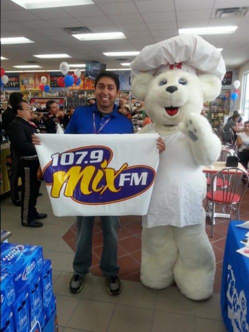 107.9 Mix FM Celebrates Stripes Grand Opening off Dove & Bicentennial in McAllen