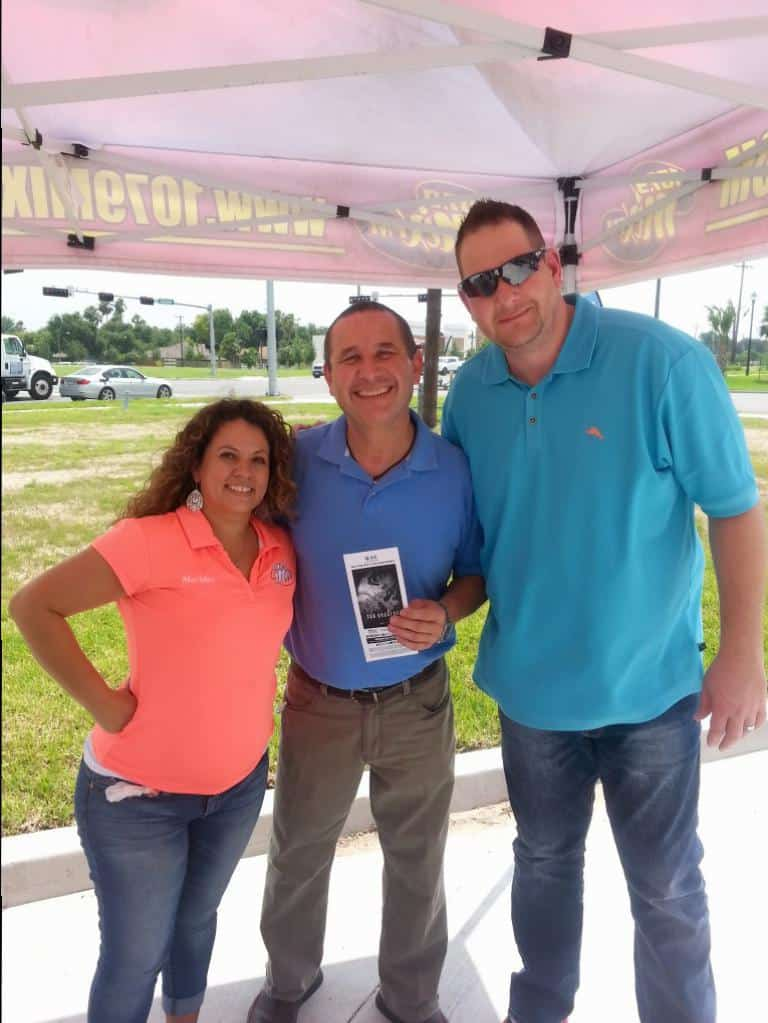 107.9 Mix FM Celebrates Stripes Grand Opening off Dove & Bicentennial in McAllen