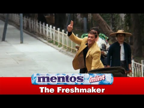 "A Scene from ""Bloodsport"" Makes a Perfect Mentos Commercial"