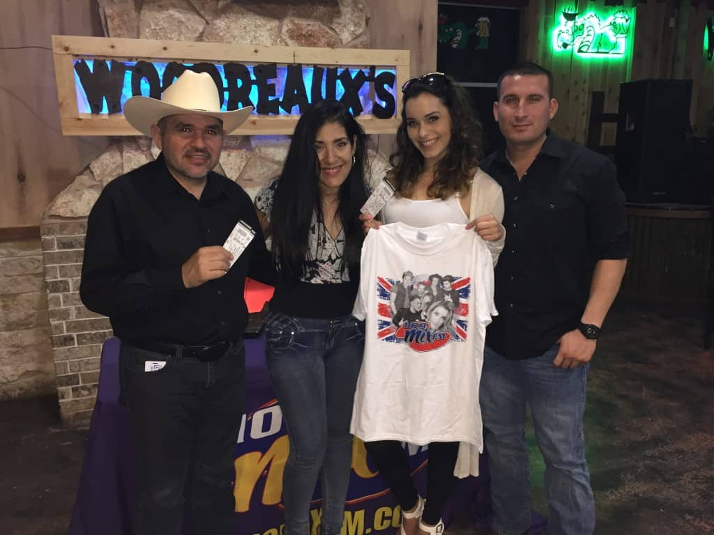 Congrats to Our Woodreaux's Kenny Chesney Winners Jennifer Marie Cantu & Betsabe Berumen