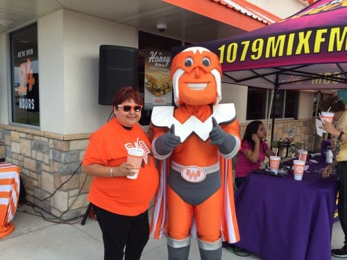 Whataburger Grand Opening in Hidalgo located at 3120 S. Jackson