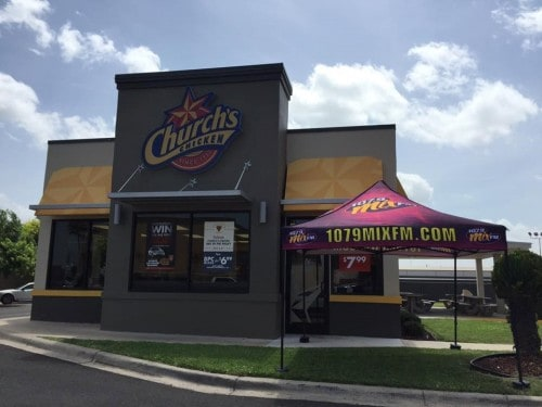 Free Chicken for a Year at Church's Chicken
