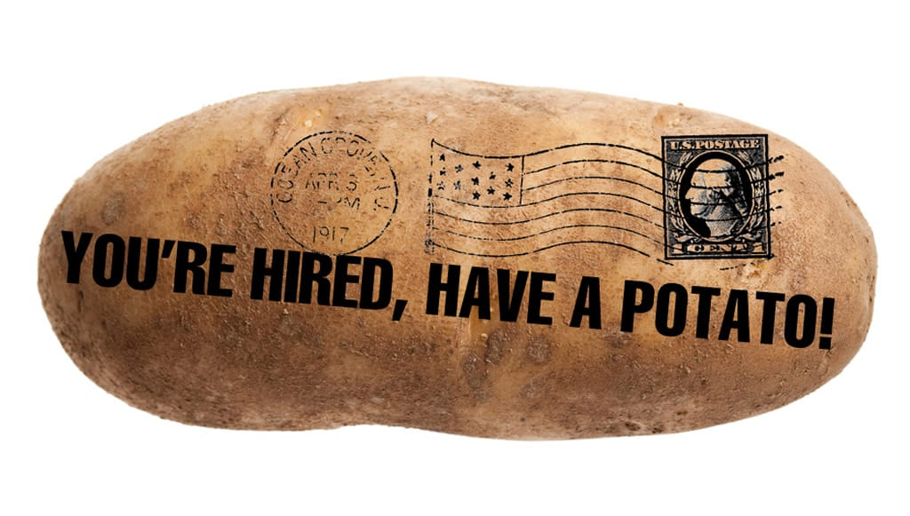 A Guy in Dallas Makes $10,000 a Month Mailing Potatoes With Messages on Them