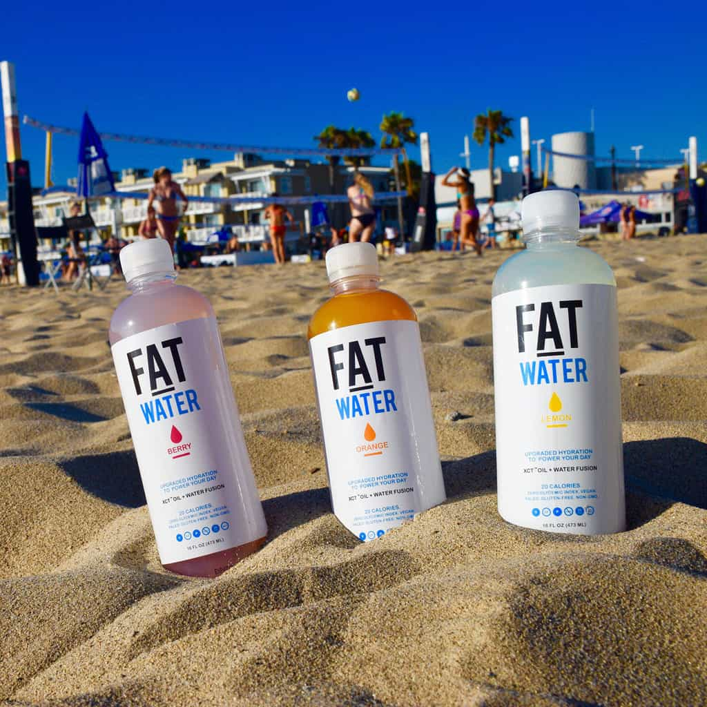 Now on Sale: Fat Infused Water For $5-a-Bottle