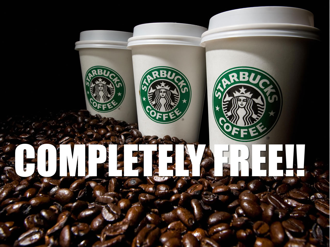 How to get a Free Starbucks Drinks 365 Days a Year