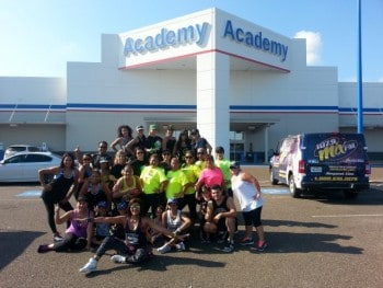 Academy Sports and Outdoors Zumbas with 107.9 MixFM