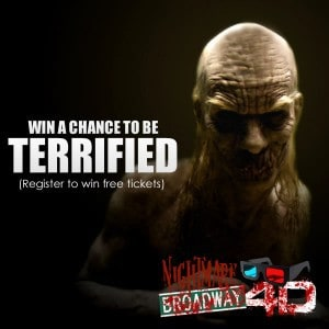 Win tickets to Nightmare on Broadway