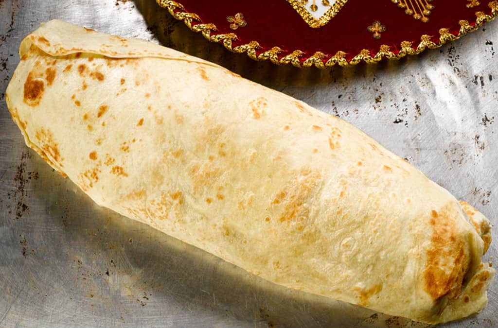 If You Can Finish a 30-Pound Burrito at This Restaurant, They'll Make You an Owner