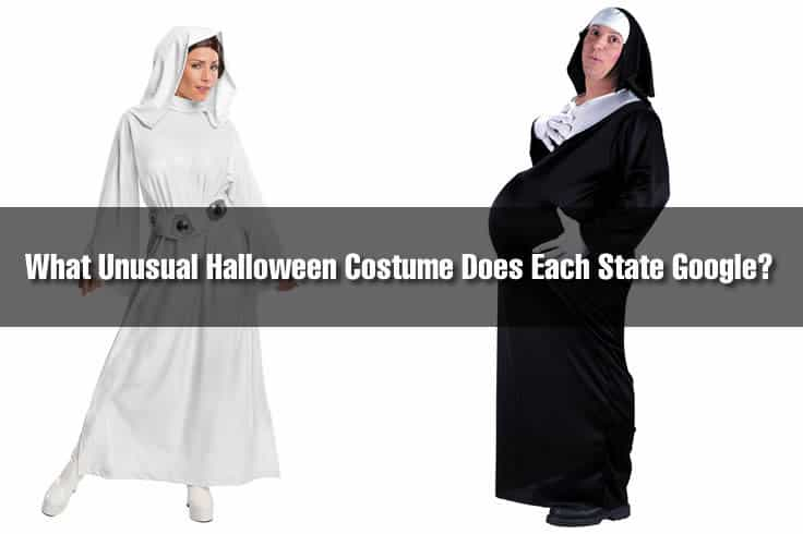 What Unusual Halloween Costume Does Each State Google More Than Anyone Else?