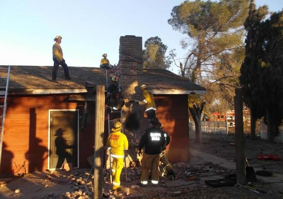 A Burglar Tries to Get in Through a Chimney . . . and Dies When the People There Light a Fire
