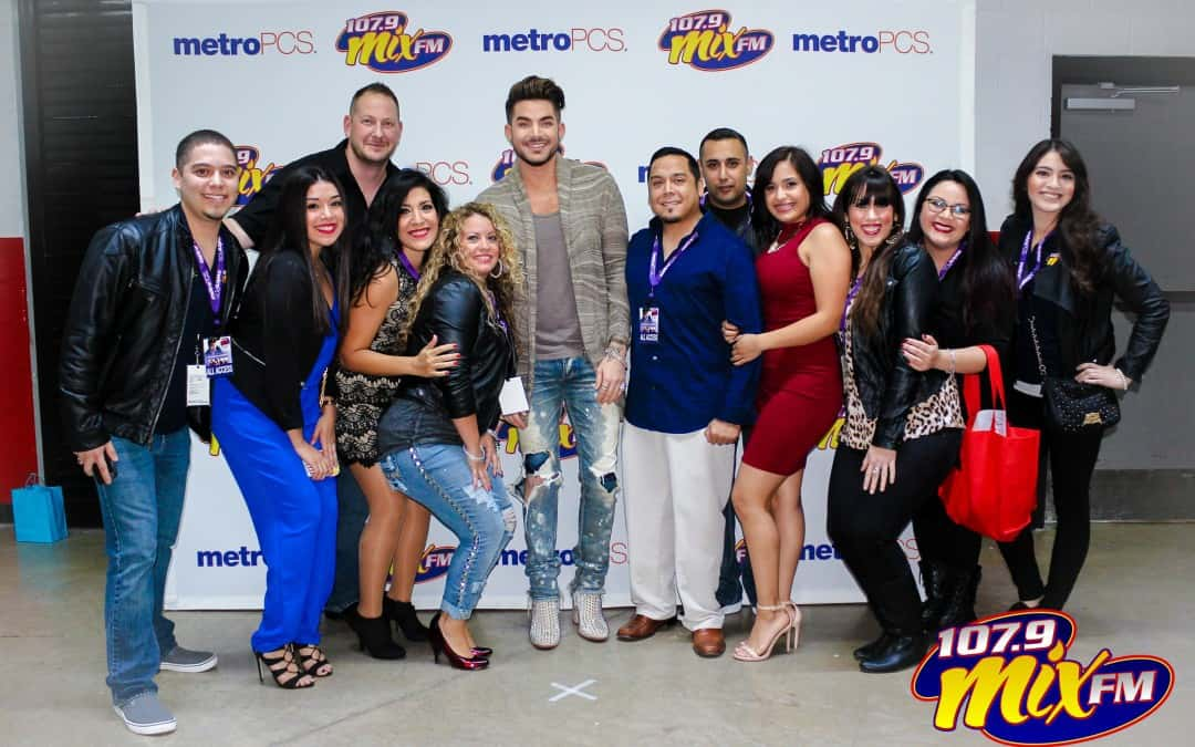 Mixmas 2015 with Adam Lambert Meet & Greet Photos