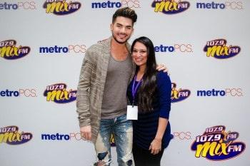 Mixmas 2015 with Adam Lambert Meet & Greet Photos