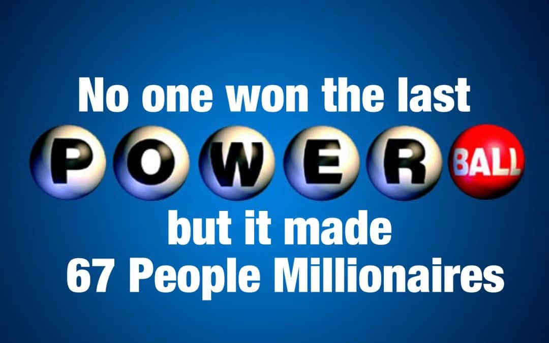 Even Though No One's Won the Powerball, It's Made 67 People Millionaires