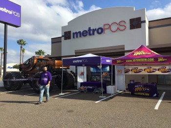 Metro PCS & Monster Jam 2016