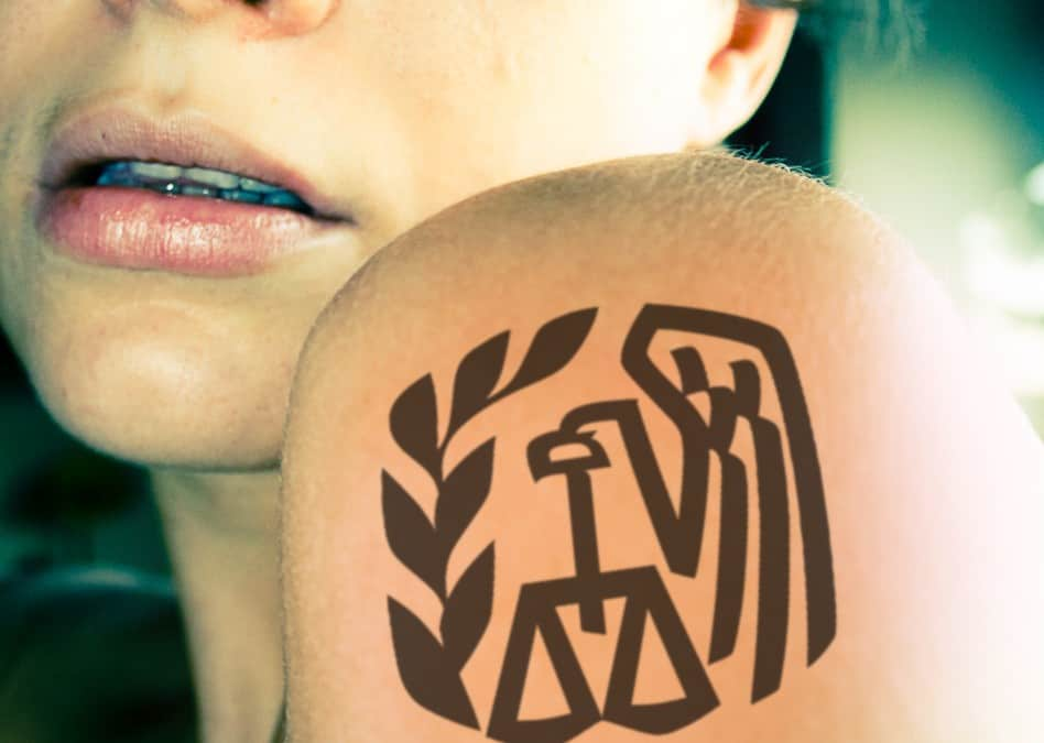"Would You Get an ""IRS"" Tattoo If You Never Had to Pay Taxes Again?"