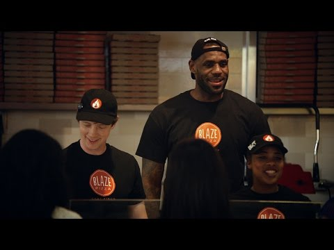 LeBron James Is Blaze Pizza's Newest Team Member #MeetRon