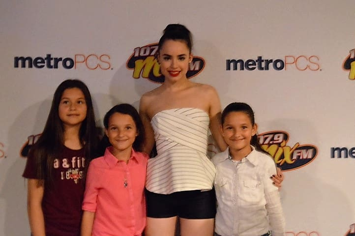 Pictures from the Sofia Carson Event