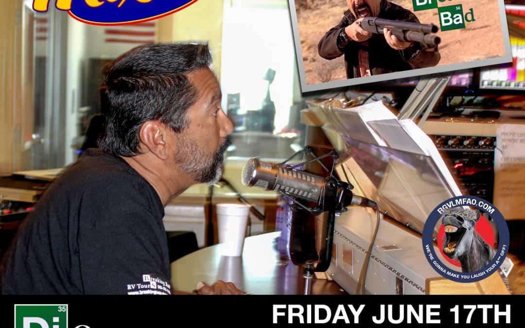 Roxy interviews Steven Michael Quezada from Breaking Bad