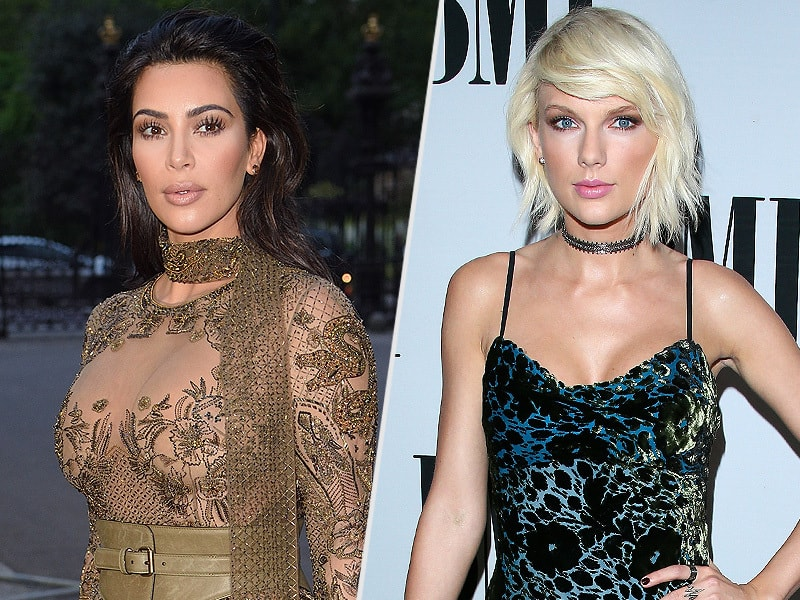 A Poll Shows More People Side with Taylor Swift Than Kim Kardashian and Kanye West