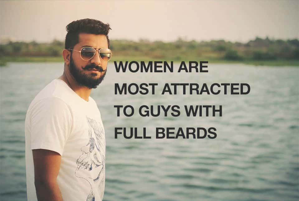 Women Are Most Attracted to Guys With Full Beards