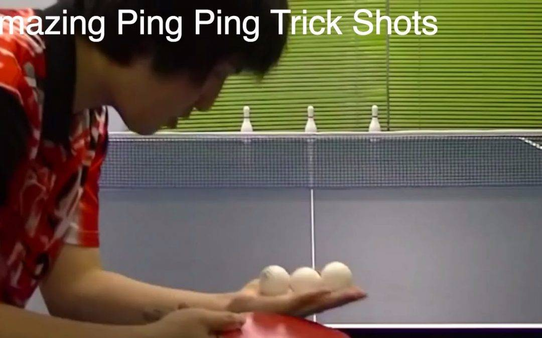 A Ridiculous Ping Pong Trick Shot Video