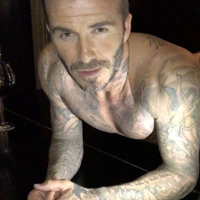 Just for fun, here's David Beckham in his undies