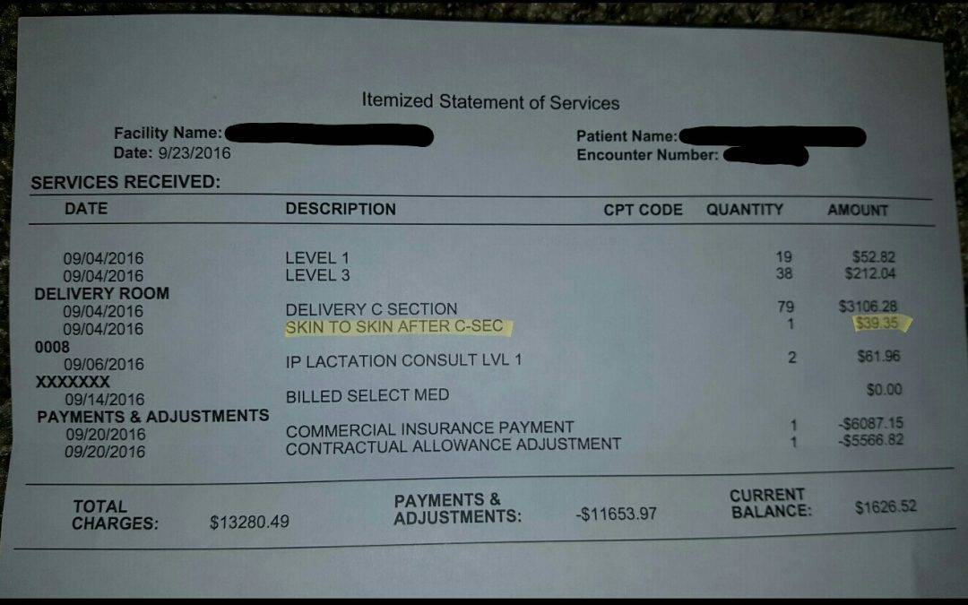 A Hospital Charged a Couple $40 to Hold Their Baby After He Was Born