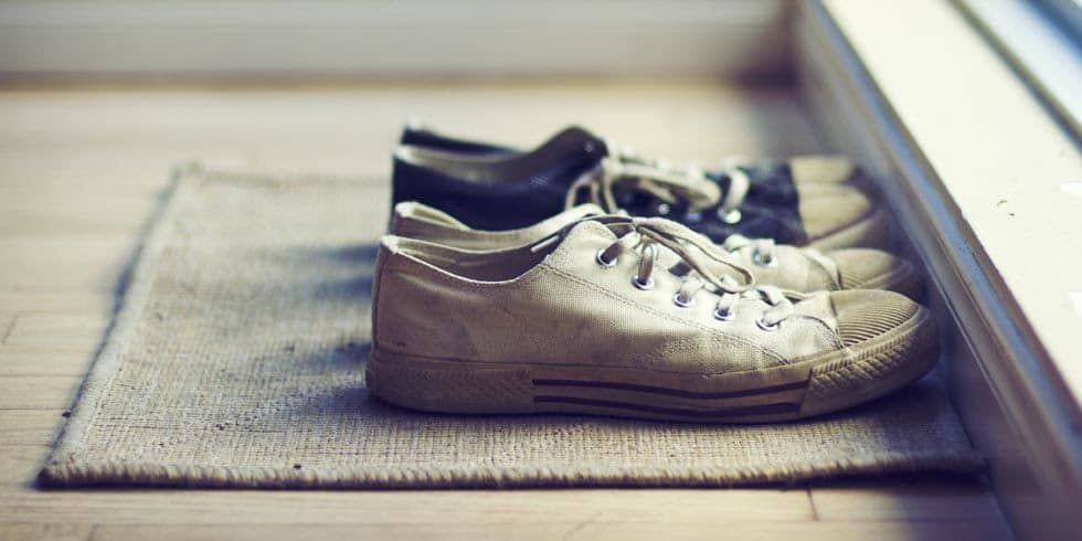 9 Seriously Gross Reasons You Should Never Wear Shoes In the House